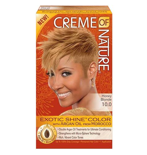 creme  nature argan oil exotic shine hair color dye