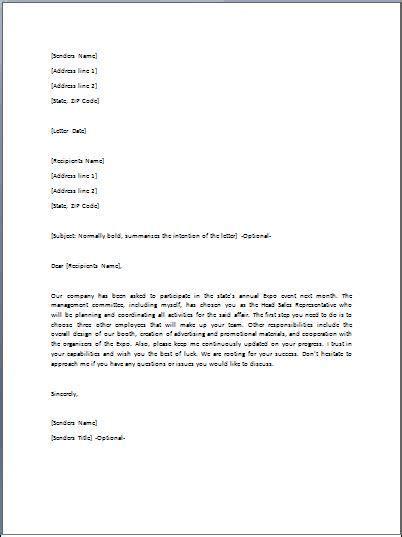 directive letter job offer lettering