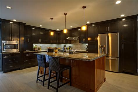 kitchen track lighting ideas kitchen contemporary with bar