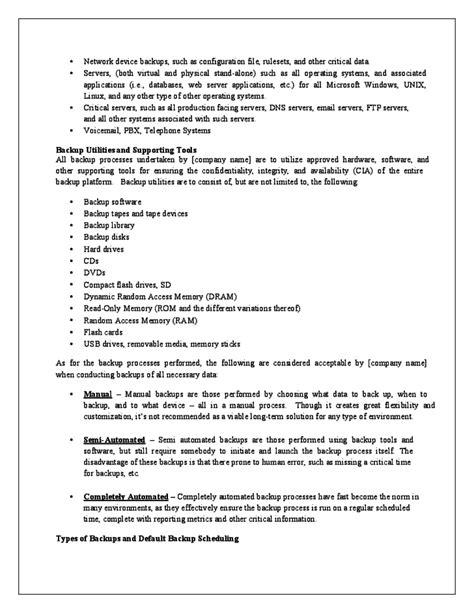 data backup plan template data backup policy template 28 images backup policy template julie bozzi oregon data