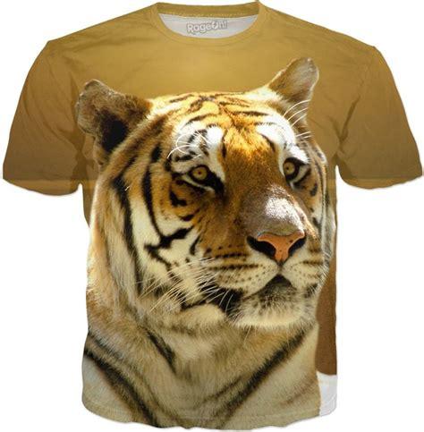 Golden Tiger Shirt Cats Wallpaper Animals