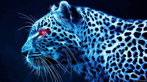 Digital Tiger Wallpaper by D Hd Digital Leopard Desktop Wallpaper Hdwallpapers 3d