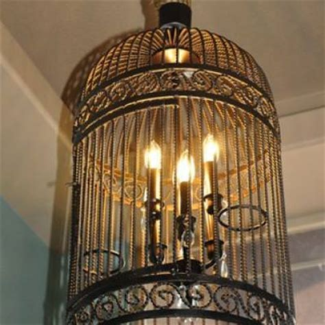 how to make a birdcage chandelier birdcage chandelier restoration hardware hack tip junkie