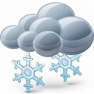 IconExperience » V-Collection » Cloud Snow Icon