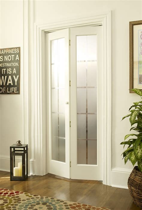 glass bifold doors colonial frosted glass bifold door in unfinished or