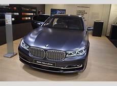2017 BMW 750d Quad Turbo Diesel debuted in Frozen Arctic Grey