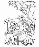 Coloring Stand Lemonade Bible Printable Animals Animal Activities Kolorowanki Lemoniada Cytryn Holidays Cytryna Dzieci Zbiory Dla Valentine Colorir Popular sketch template