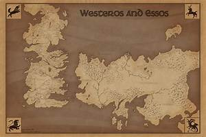 George R.R Martin 'A Song of Ice and Fire' Westeros and ...
