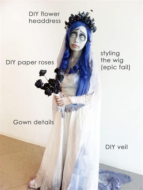 diy corpse bride halloween corpse bride costume diy