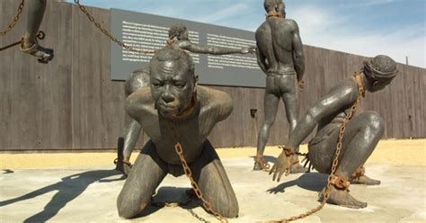 sculpture  slavery cbs news