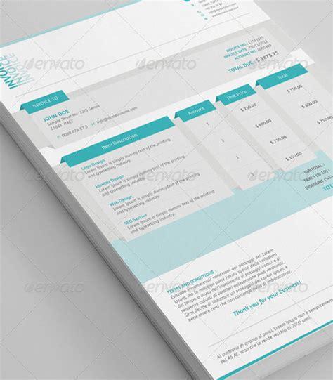 creative invoice proposal template designs bashooka