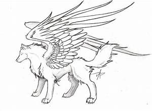 Winged Wolf by SpiritWolf517 on DeviantArt