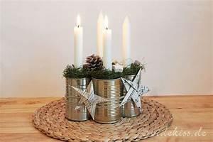 Adventskranz Aus Metall Dekorieren : adventskranz aus konservendosen weihnachten pinterest ~ Michelbontemps.com Haus und Dekorationen