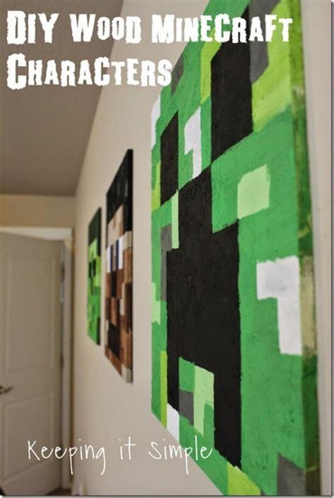minecraft diy crafts party ideas