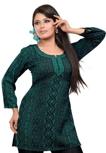 indian blouses indian kurti top tunic printed womens blouse india