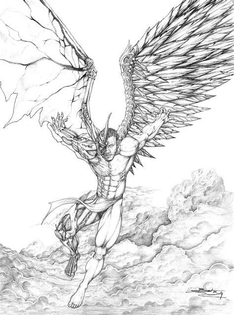 Dark Angel Drawings | Arts | Pinterest | Engel tattoo vorlagen, Engel tattoo and Engel Teufel Tattoo