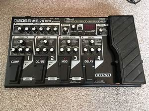 Boss Me 70 Multi Effect Guitar Pedal With Manual And Free