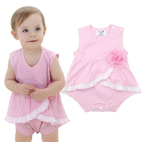 Sanlutoz Baby Rompers Girl Clothing Infant Jumpsuit Baby Clothes Girls Fashion Wear Newborn Baby ...