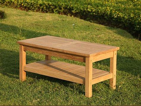 With this coffee table, you will never complain about shortage of storage space since this is what the manufacturer has focused on. 20+ Teak Outdoor Coffee Table With Storage