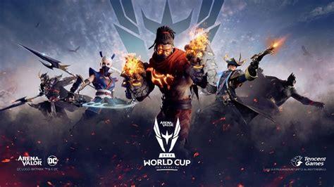rov arena  valor world cup  awc