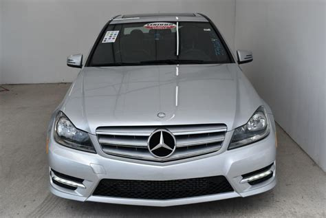 Browse inventory online & request your autonation price to get our lowest price! 2013 Used Mercedes-Benz C-Class 4dr Sedan C 250 Sport RWD at Car Factory Outlet Serving Miami ...
