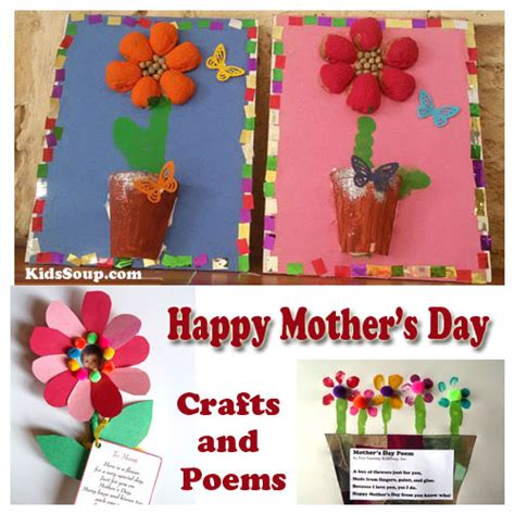 s day preschool crafts artworks and poems kidssoup 628 | preschool mothers day crafts poems