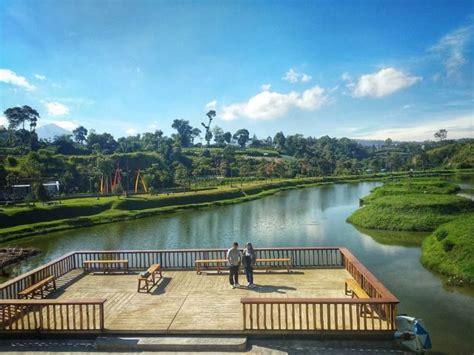 taman lembah dewata alternatif wisata perbukitan kota