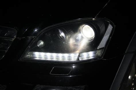 prefacelift headlight  leds mercedes benz forum