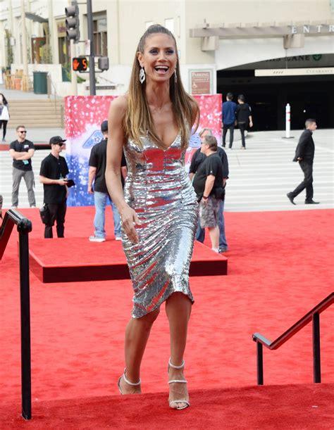 Heidi Klum America Got Talent Event