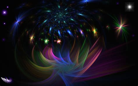 party lights on black background hd wallpaper wallpaper