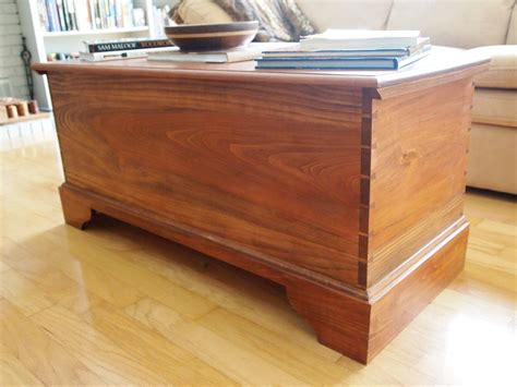 woodwork shaker blanket chest plans  plans