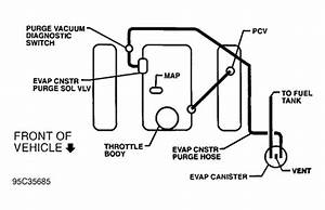 solved ruff running where is a vacuum hose located on a 1 With 1997 chevrolet s 10 blazer vacuum diagram car pictures