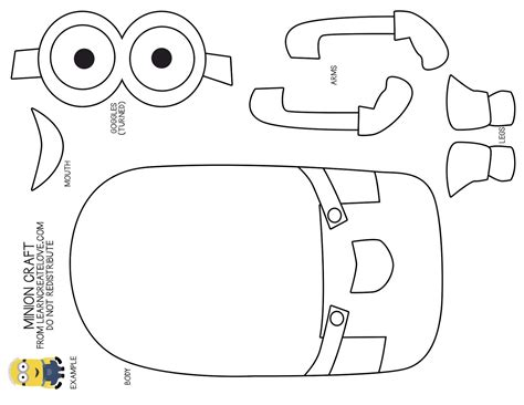 cut out template minion cut out template search templates ornaments teaching and dr who