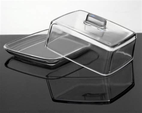 butterdose aus glas kitchen paradise butterdose aus klarem glas mit teller k 228 sedose