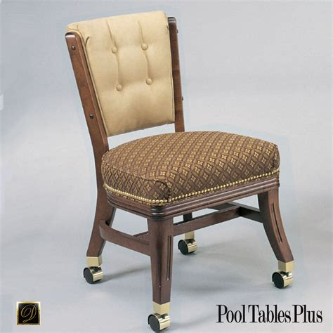 960 Armless Club Chair with Casters
