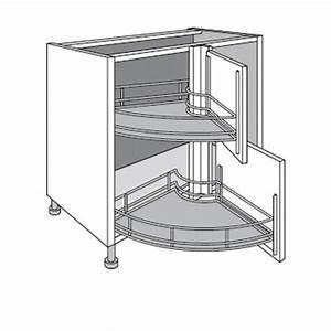 Meuble Evier D Angle : meuble de cuisine d 39 angle bas twister twist cuisine ~ Premium-room.com Idées de Décoration