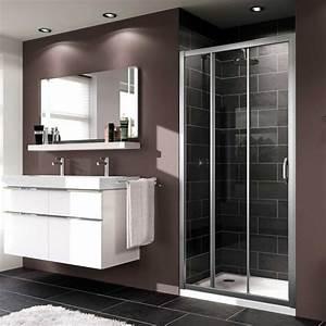 Huppe Shower Screen : bathroom pinspiration modern huppe x1 3 panel sliding door shower enclosure sliding shower ~ Markanthonyermac.com Haus und Dekorationen