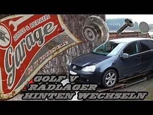 Golf 5 Radlager Hinten : vw golf 5 radlager hinten wechseln tutorial youtube ~ Kayakingforconservation.com Haus und Dekorationen