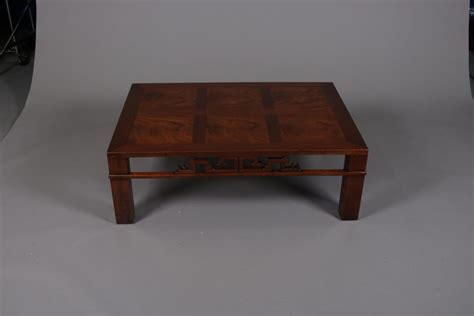 Mid century møbler is one of the leading mid century furniture dealers in the united states, specializing in vintage 1950s and 1960s modern furniture imported from scandinavia and europe. Mid-Century Modern Chinese Style Mahogany Coffee Table, Heritage Henredon For Sale at 1stdibs