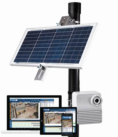 Solar Site Sensera Powered Camera Job Mc26