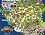 Universal Hollywood Studios Map - ToursMaps.com