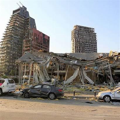 Beirut Explosion Blast Damage Caused Lebanon Serious