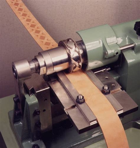 belt embossing machines sewing leather leather working