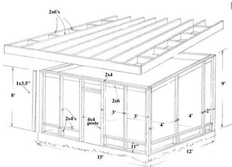 12x12 Covered Deck Plans by How To Build A Screened Porch Screen Porch