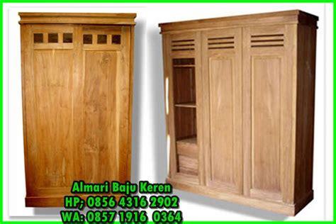 lemari baju kayu,model lemari pakaian dari kayu jati,Harga