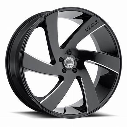 Luxxx Wheels Milled 24x10 Alloys Rims Wheel
