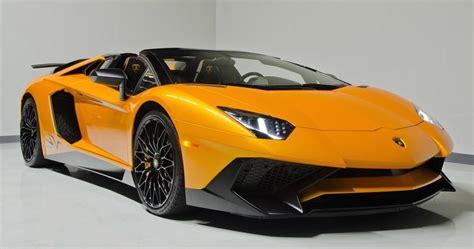 lamborghini aventador sv roadster orange arancio ishtar lamborghini aventador sv roadster listed for 800k