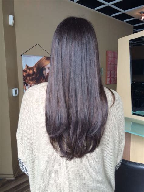 warm chocolate brown  wella color   work