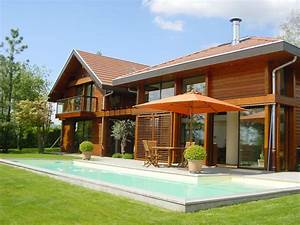 good prvenant maison bois design les maisons en ossature With prix maison en rondin 2 vente de chalet en kit maison bois ossature corse