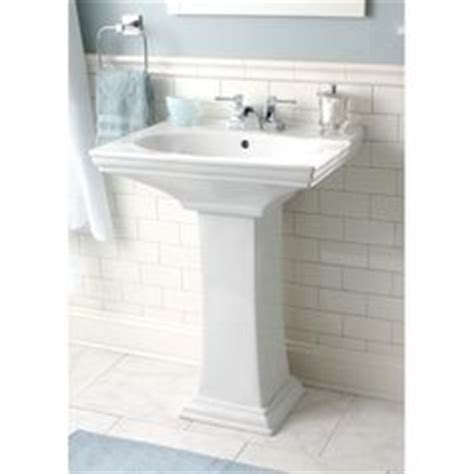 Gerber Logan Pedestal Sink by Powder Room Sink Gerber Logan Square New House